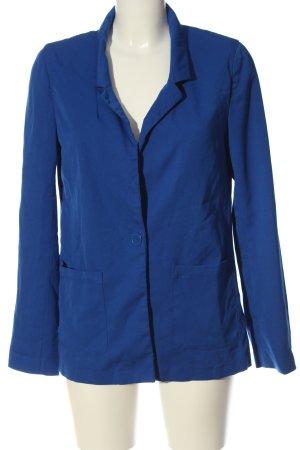 H&M Divided Klassischer Blazer blau Casual-Look