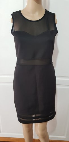 H&M Divided Cut Out Dress black