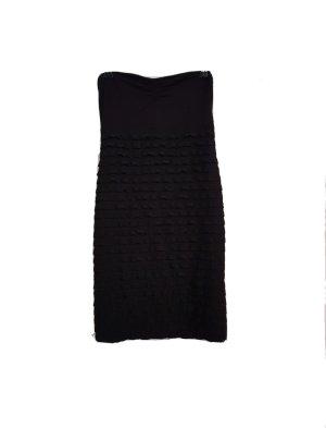 H&M divided Kleid schwarz S 36 schulterfrei