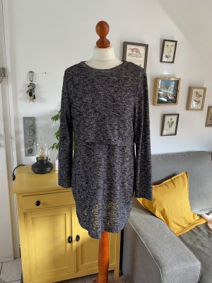 H&M Divided Kleid Strickkleid grau 40 Herbst Winter
