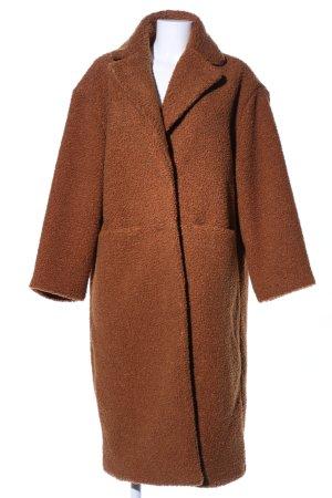 H&M Divided mantel braun Business-Look