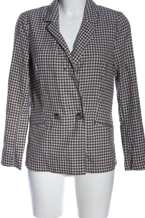 H&M Divided Kurz-Blazer abstraktes Muster Casual-Look