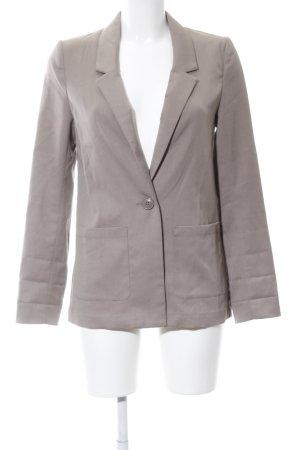 H&M Divided Kurz-Blazer wollweiß Business-Look