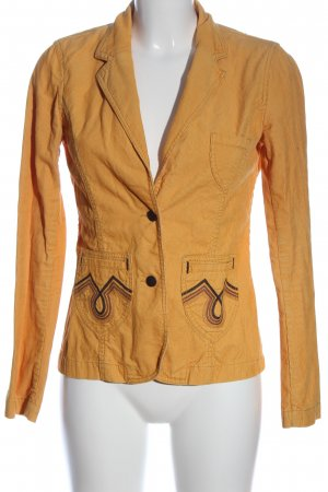 H&M Divided Kurz-Blazer hellorange Business-Look