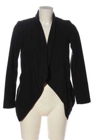 H&M Divided Kurz-Blazer schwarz Casual-Look