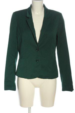 H&M Divided Kurz-Blazer grün Business-Look