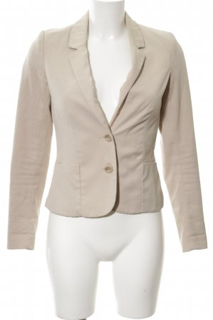 H&M Divided Kurz-Blazer creme Business-Look