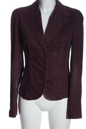H&M Divided Kurz-Blazer rot Casual-Look