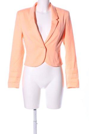 H&M Divided Kurz-Blazer hellorange Casual-Look
