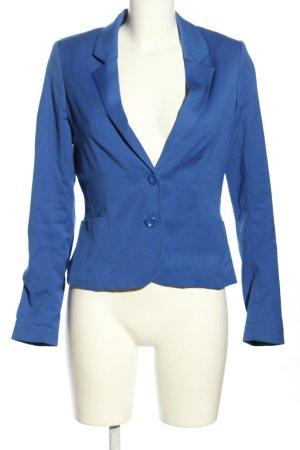 H&M Divided Kurz-Blazer blau Business-Look