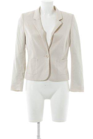 H&M Divided Kurz-Blazer nude Business-Look