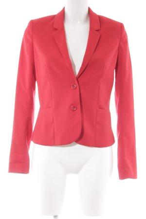 H&M Divided Kurz-Blazer rot Business-Look