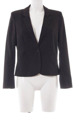H&M Divided Kurz-Blazer schwarz Elegant