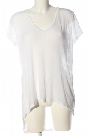 H&M Divided Oversized Shirt weiß Casual-Look