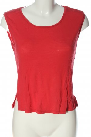H&M Divided Kurzarm-Bluse rot Casual-Look