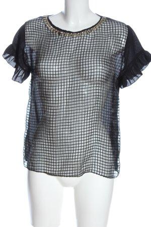 H&M Divided Short Sleeved Blouse black-primrose casual look