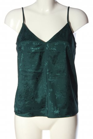 H&M Divided Kurzarm-Bluse türkis Casual-Look