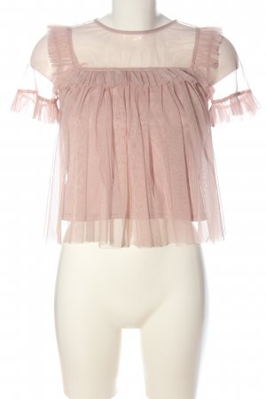 H&M Divided Short Sleeved Blouse pink casual look