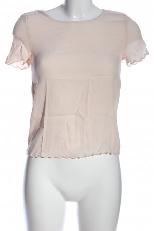 H&M Divided Kurzarm-Bluse creme Casual-Look
