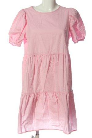 H&M Divided Kurzarmkleid pink Casual-Look