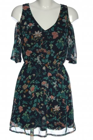 H&M Divided Shortsleeve Dress flower pattern casual look