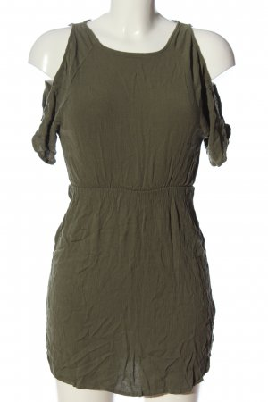 H&M Divided Kurzarmkleid khaki Casual-Look
