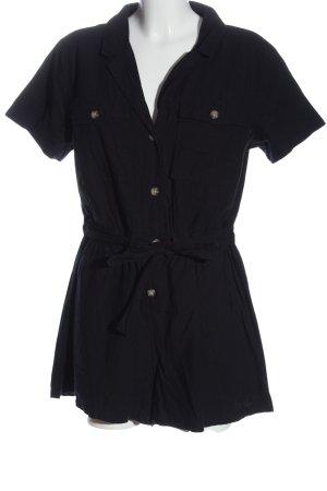 H&M Divided Kurzer Jumpsuit black casual look
