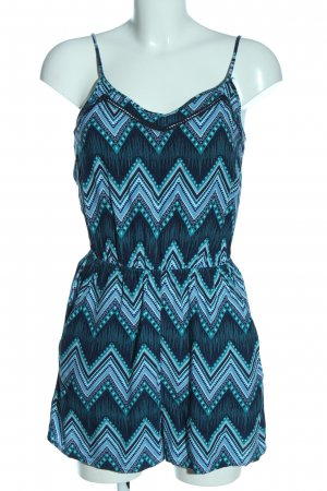H&M Divided Kurzer Jumpsuit allover print casual look
