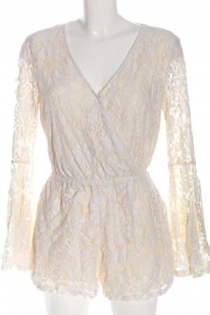 H&M Divided Kurzer Jumpsuit natural white casual look