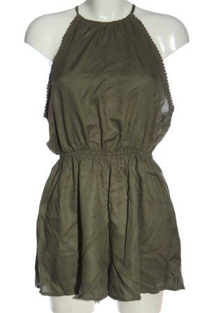 H&M Divided Kurzer Jumpsuit khaki casual look
