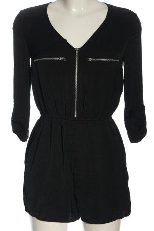H&M Divided Kurzer Jumpsuit schwarz Casual-Look