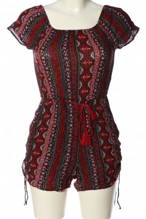 H&M Divided Kurzer Jumpsuit graphic pattern casual look
