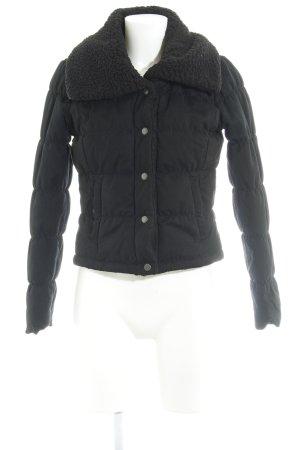 H&M Divided Kurzjacke schwarz schlichter Stil