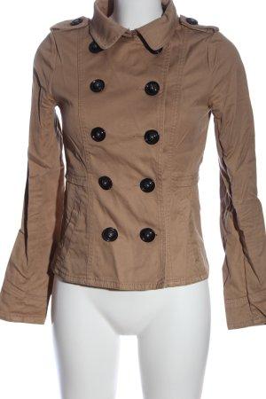 H&M Divided Short Coat brown casual look