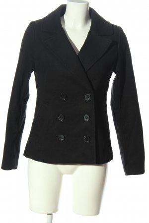 H&M Divided Short Coat black business style