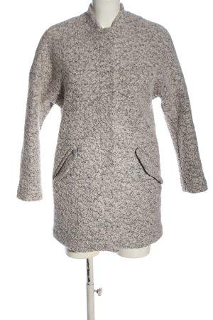 H&M Divided Abrigo corto gris claro moteado look casual