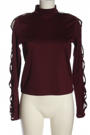H&M Divided Cut Out Top red casual look
