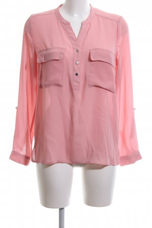 H&M Divided Langarm-Bluse pink Casual-Look