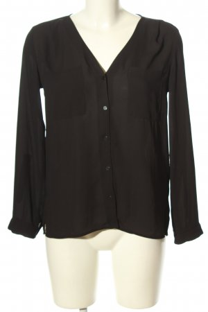 H&M Divided Langarm-Bluse schwarz Casual-Look