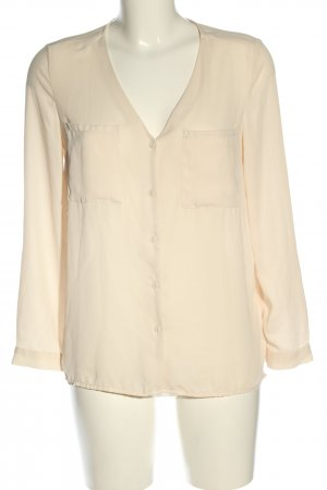 H&M Divided Langarm-Bluse creme Casual-Look