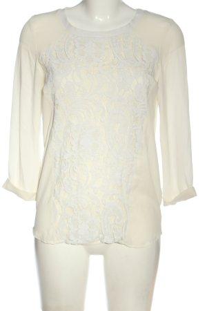 H&M Divided Langarm-Bluse wollweiß Elegant