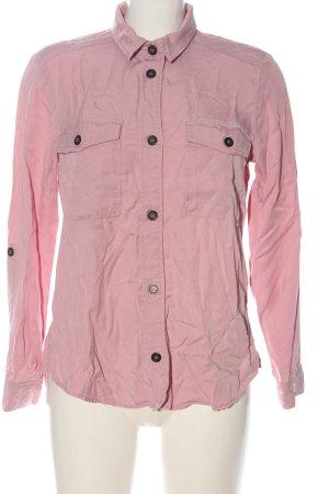 H&M Divided Langarmhemd pink Elegant