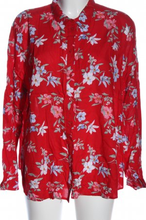 H&M Divided Langarmhemd Blumenmuster Casual-Look