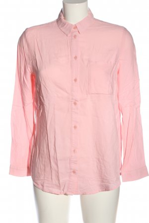 H&M Divided Langarmhemd pink Business-Look