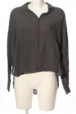 H&M Divided Langarmhemd schwarz Casual-Look