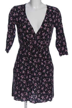 H&M Divided Langarmkleid Blumenmuster Casual-Look