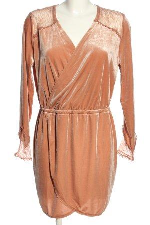 H&M Divided Langarmkleid braun Elegant
