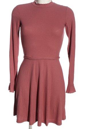 H&M Divided Langarmkleid pink Casual-Look