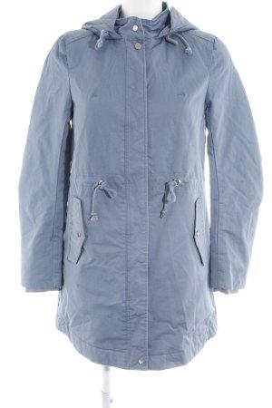 H&M Divided Lang jack blauw simpele stijl