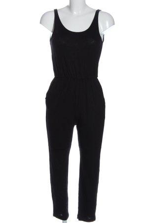 H&M Divided Langer Jumpsuit schwarz Casual-Look